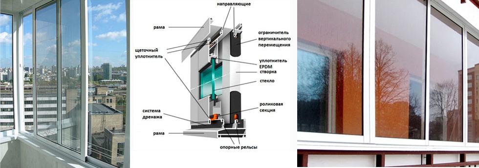 Окна и балконы в рассрочку - остекление и отделка балконов и.